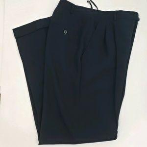 Ralph Lauren Womens Wool Slacks Navy Dress Pants 6